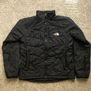 North Face Puffer Jacket, Black